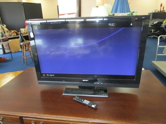 "Sony Bravia LCD Color TV HD, 40"" Corner-To-Corner"
