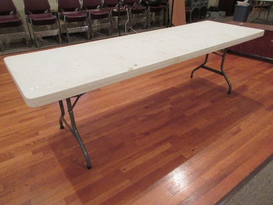 Lifetime Commercial Grade 8ft. Folding Table