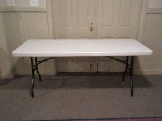Lifetime Commercial Grade 6ft Folding Table