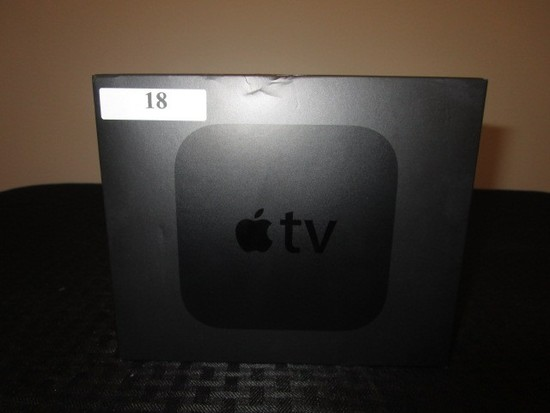 32gb Apple TV Device in Box w/ Wires/Remote