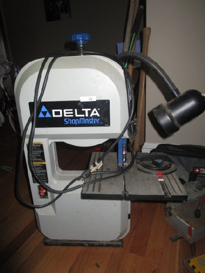 Delta Shopmaster BS100 Band Saw HP 1/3, HZ60 w/ Attached Light