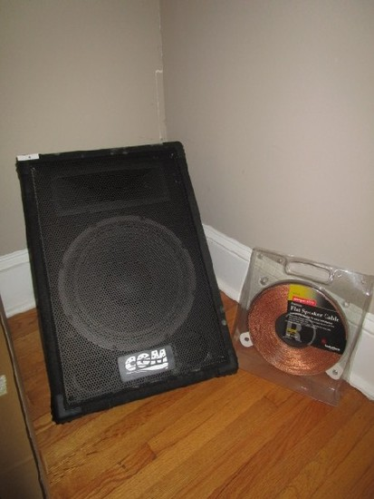 "CGM 12"" Floor Monitor Wedge Speaker Model: ARM-112M-1"