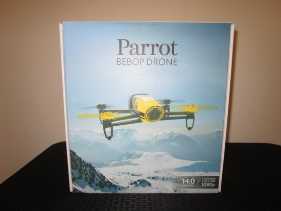 Parrot Bebop Drone 14.0 Megapixels 3-Axis Stabilized Full HP 1080p Camera