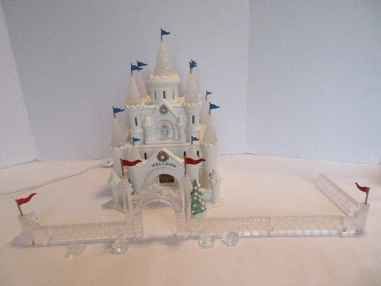 "Department 56 Original Snow Village ""Snow Carnival Ice Palace"""