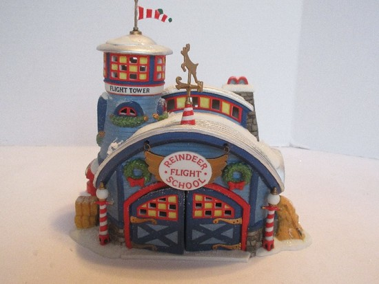 "Department 56 North Pole Series Heritage Village Collection ""Reindeer Flight School"""