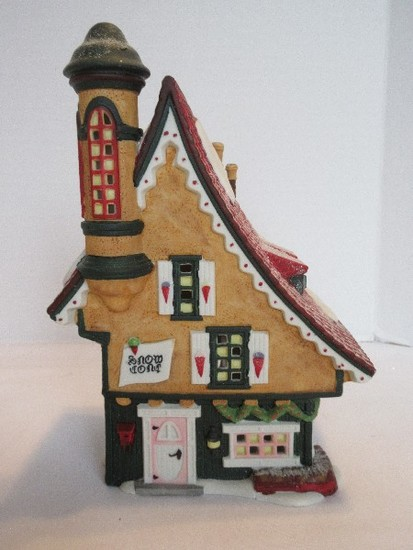 "Department 56 North Pole Series Heritage Village Collection ""Elfin Snow Cane Works"""