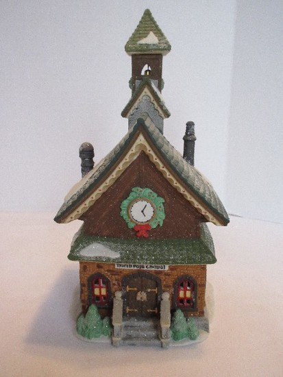 "Department 56 North Pole Series Heritage Village Collection ""North Pole Chapel"""