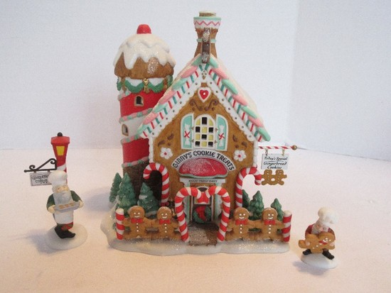 "Department 56 North Pole Series Heritage Village Collection ""Ginny's Cookie Treats Set"""