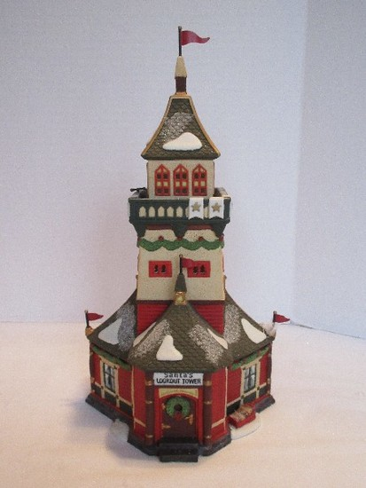 "Department 56 North Pole Series Heritage Village Collection ""Santa's Lookout Tower"""