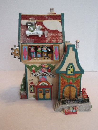 "Department 56 North Pole Series ""Jack in The Box Plant No.2"""