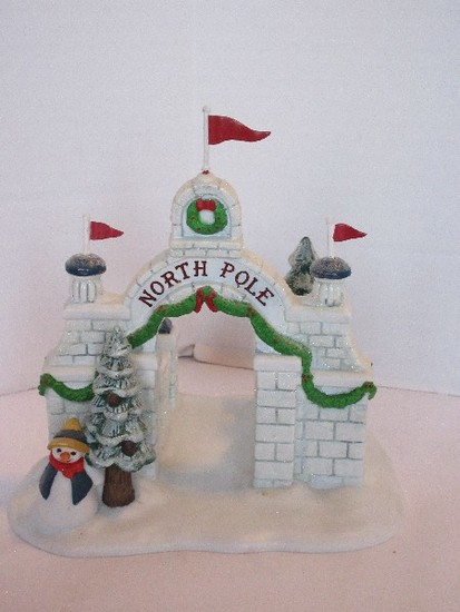 "Department 56 North Pole Series Heritage Village Collection ""North Pole Gate"""