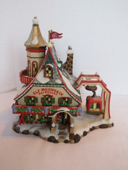 "Department 56 North Pole Series Heritage Village Collection ""Elf Mountain Ski Resort"""