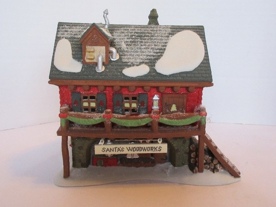 "Department 56 North Pole Series Heritage Village Collection ""Santa's Woodworks"""