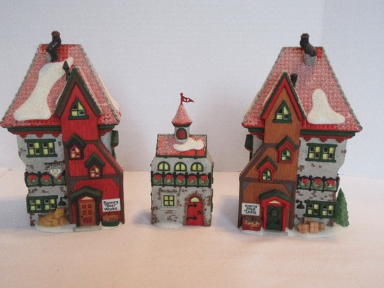 "Department 56 North Pole Series ""North Pole Dolls & Santa's Bear Works"""