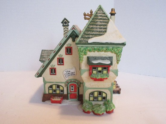 "Department 56 North Pole Series Heritage Village Collection ""The Glacier Gazette"""