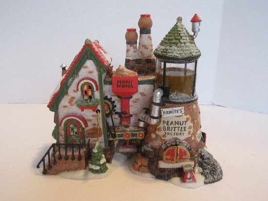 "Department 56 North Pole Series Heritage Village Collection ""The Peanut Brittle Factory"""