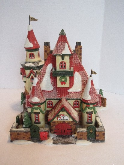 "Department 56 North Pole Series Heritage Village Collection ""Route 1, North Pole"""
