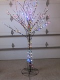 Awesome 6' Metal LED Tree w/ 56 Multi-Function Light Patterns & Remote by Santa's Best