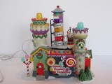 Department 56 North Pole Series Village ANIMATED-