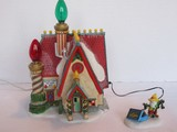 2 Piece - Department 56 North Pole Series Village Collection
