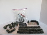 Lot - Department 56 Village Collection Frosted Topiaries & Flexible Hedges