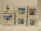 6 Charming Tails Collectible Easter Figurines Hoppin' Down The Bunny Trail