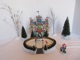 Department 56 Special Edition Animated Holiday Gift Set North Pole Series Glacier Park Pavilion