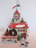 Animated Department 56 North Pole Series Heritage Village Collection