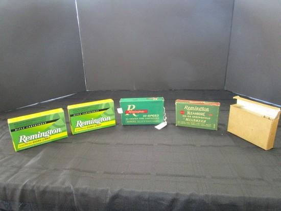 Remington Hi-Speed 20 Center Fire Cartridges 30-06 Springfield Rounds