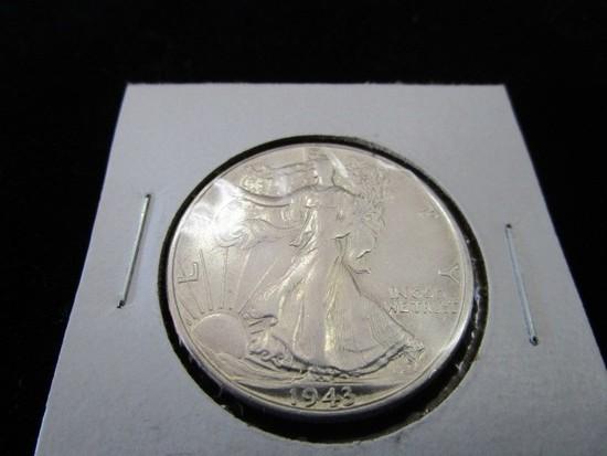 1943-S Silver Walking Liberty Half Dollar