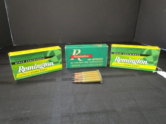 Lot - Remington Express Care-Lot 243 Win Bullets 2 Boxes