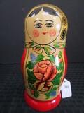 Natryoshka Wooden Dolls Made in USSR