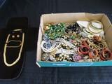 Misc. Costume Jewelry Necklaces, Earrings, Bracelets, Etc.