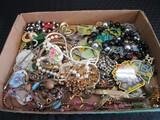 Misc. Costume Jewelry Necklaces, Earrings, Bracelets, Vintage Pins, Etc.