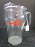 Coca-Cola Tall Glass Pitcher