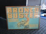 Vintage Bronco Buster Vegetables Advert in Frame Wall Mounted