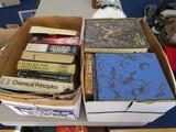 Book Lot - Vintage Books Organic Chemistry Biological Studies, Etc.