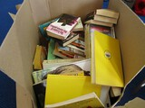 Book Lot - Misc. Vintage Books Dantes Inferno, Freedom For A Cheetah, Othello, The Iliad, Etc.