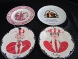 Vintage Plates Décor Lot - Lew, Walley, Holly Hobbie