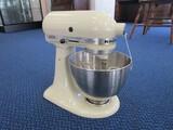 Kitchen Aid Model:K45SS Mixer w/ Bowl