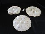 Haviland Limoges Divided Petal Plate 9