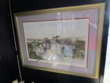 Berry Pickers Picture Print by Jennie Brownscombe in Gilted Wooden Frame/Matt