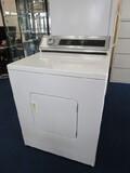 Vintage White Metal Whirlpool Dryer