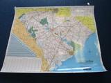 SCDOT Map of South Carolina © 2001 Laminated