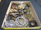 Lot - Costume Jewelry Necklaces, Earrings, Etc. Various Designs