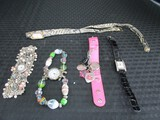 Watch Lot - 1 Perfume Givenchy w/ Genuine Leather Strap, La Mer Collections