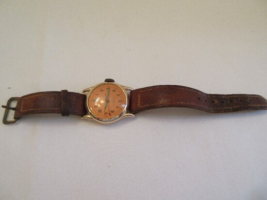 Crimier De Luxe Jeweled Antimagnetic Wrist Watch