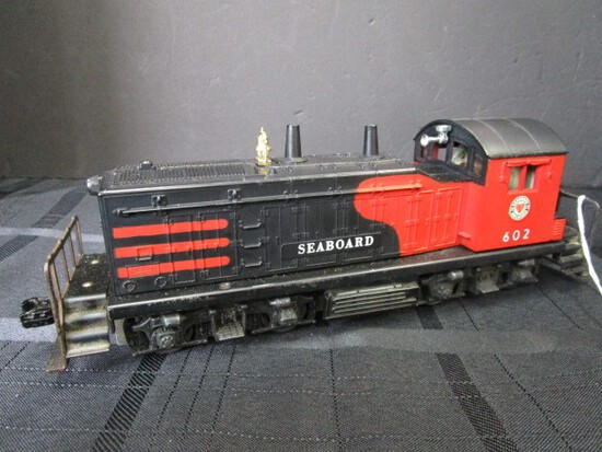Seaboard Railroad 602 Diesel Switcher Locomotive