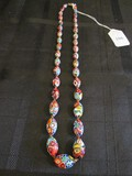 Cloisonné Bead Style Colorful Necklace