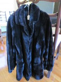 Vintage Real Fur Ladies Coat Mink Per Seller Info, Danco on Clasp